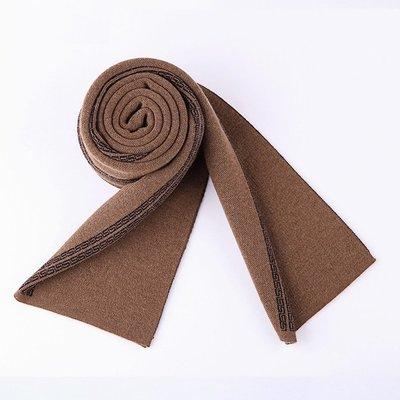 圍巾 針織披肩-簡約加厚保暖羊毛男配件73wi14[獨家進口][米蘭精品]