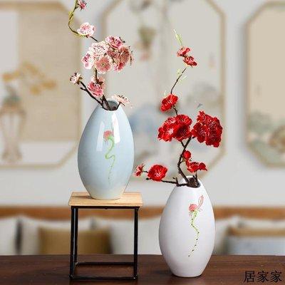 花盆 花器 陶瓷擺飾 陶瓷龍泉青瓷小花瓶插花花筒簡約水培容器客廳書桌裝飾擺件清新