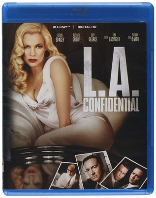 BD 全新美版【鐵面特警隊】【L.A.Confidential】Blu-ray 藍光