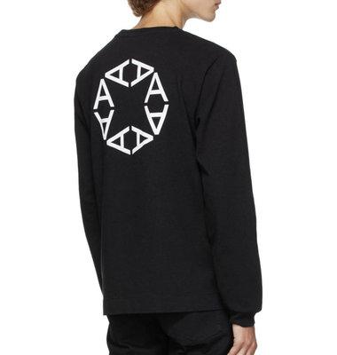 """《限時代購》  1017 ALYX 9SM  """"A"""" Logo sweater 長袖 黑色"""