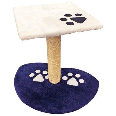 ✪第一便宜✪貓跳台 BCT0015 貓窩 跳台 寵物跳台 貓跳椅 絨毛白藍款