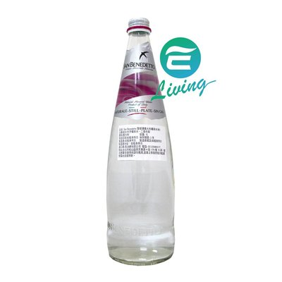 【易油網】SAN BENEDETTO 天然礦泉水 1L X 12瓶 非沛綠雅 聖沛黎洛 粉紅箱