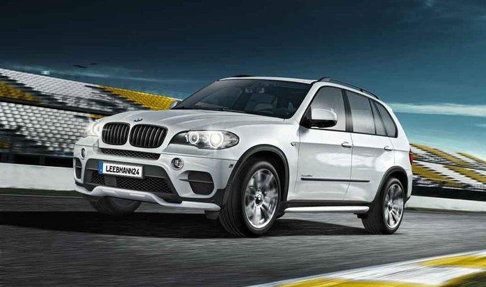 【樂駒】BMW E70 LCI M Performance 外觀 空力 改裝 套件 前後下擾流板 升級