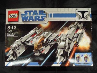 全新 盒傷 盒壓 MISB LEGO - 7673 MAGNA GUARD STARFIGHTER Starwars