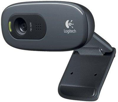 【現貨出貨 羅技正品 C270 】Logitech 羅技 C270 HD 720p 網路攝影機 內建麥克風 視訊鏡頭