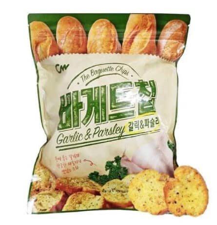 韓國CW大蒜奶油法國麵包餅乾-400g