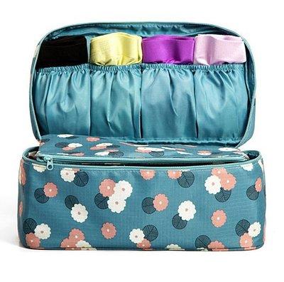 旅行攜帶印花衣物收納包手提包內衣包化妝包(多款可選)