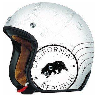 (I LOVE樂多)美牌TORC T-50 RUSH California加州熊 消光白 4/3安全帽