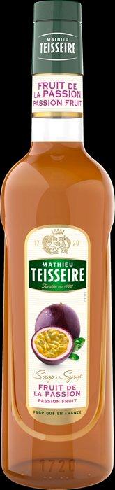 Teisseire 糖漿果露-百香果風味 Passion fruit 法國頂級天然糖漿 1000ml-【良鎂咖啡精品館】