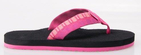 體育課 TEVA TV4198SHPRB(梅紅色) 女  戶外休閒 經典織帶夾腳拖Mush II Flip-Flop