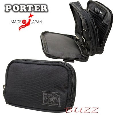 巴斯 日標PORTER屋-現貨 PORTER DILL 信用卡夾-零錢包-鑰匙包(二層收納) 653-09112