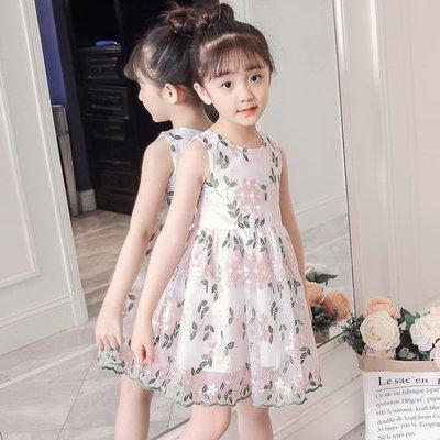 女童洋裝2019夏裝新款童裝裙子小女孩衣服公主兒童超洋氣潮韓版