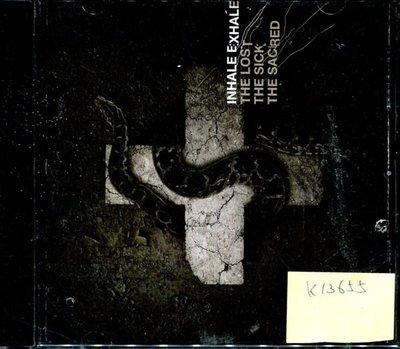 *真音樂* INHALE EXHALE / THE LOST 二手 K13655 (封面底破.CD有缺口不影響讀取)