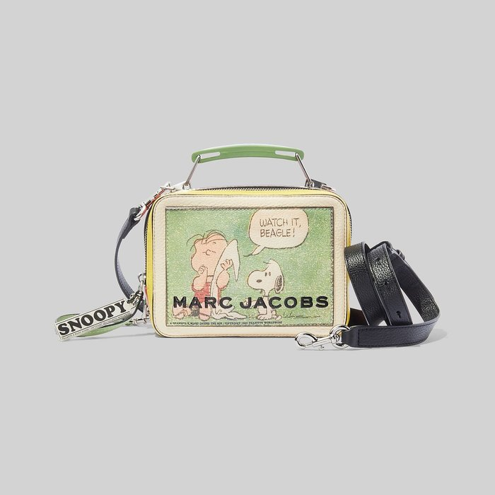 Coco 小舖 MARC JACOBS PEANUTS® X MARC JACOBS THE MINI BOX BAG