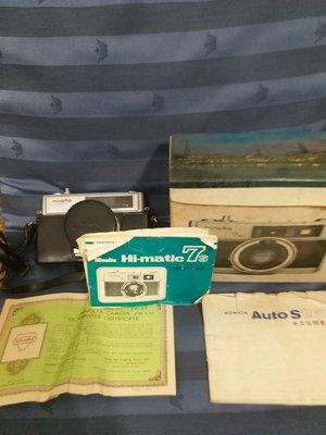 『BAN'S SHOP』柯尼卡美能達 KONICA MINOLTA HI-MATIC 7s  古董相機