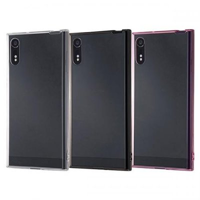尼德斯Nydus 日本正版 透明 TPU軟殼 背面硬度強化2H 清水套 Sony Xperia XZ XZS 手機殼