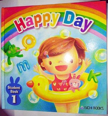 Happy Day ~ Student Book 1兒童英文學習書