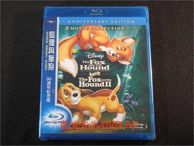 [藍光BD] - 狐狸與獵狗 1+2 三十週年紀念版 The Fox and the Hound 30th anniversary ( 得利公司貨 )