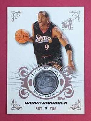 2006-07 Topps Big Game Silver #15 Andre Iguodala 213/269