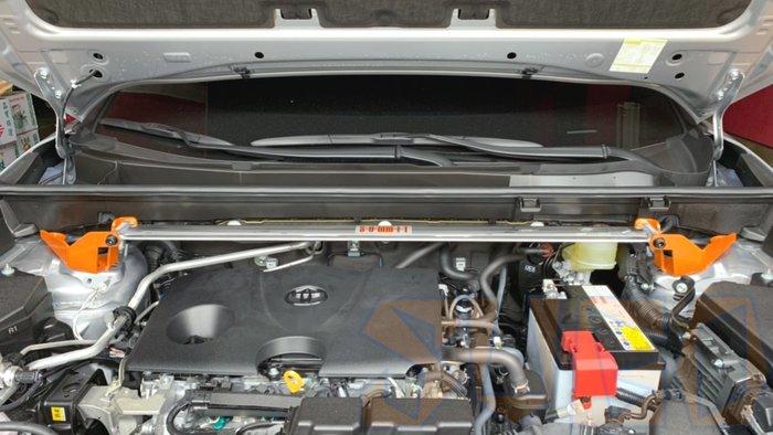 SUGO汽車精品 豐田NEW RAV4 5代(19年款) 專用SUMMIT 鋁合金引擎平衡拉桿