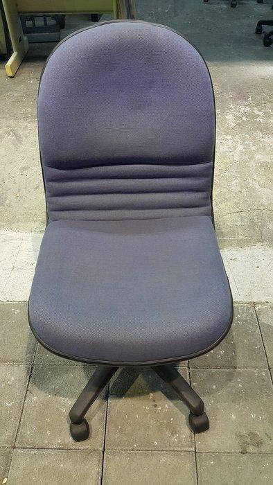 樂居二手家具 1106CJ 藍色布面辦公椅  電腦桌/椅 中古辦公桌/椅 OA洽談桌椅 書桌椅【全新中古傢俱家電賣場】