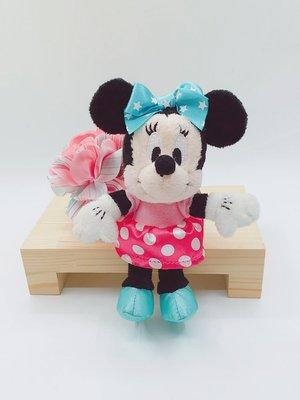 日本迪士尼Store商品 米妮公仔鑰匙圈吊飾