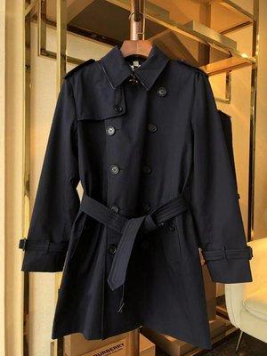 英倫The Sandringham 男款風衣  deposit 中長款 桑德林漢姆大衣 風衣 英倫 明星同款 海軍藍