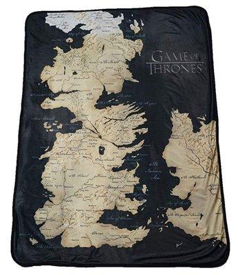 【丹】A_Game of Thrones Family Crests 權力遊戲 冰與火之歌 地圖 毛毯 毯子