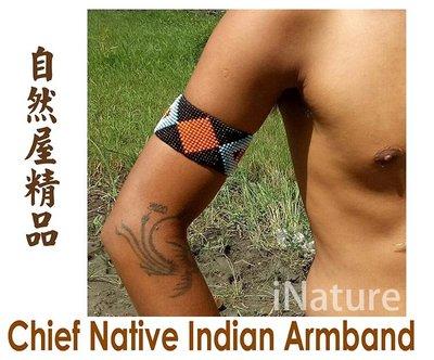手臂環 印第安飾品 印地安風 印地安手臂環 Beaded Armband Indian accessory A 款 新北市