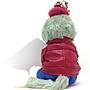 靚萁精品館 日本~Disney樂園~2016情人節限定款Gelatoni傑拉東尼坐姿款手機&珠鍊2用吊飾*特價500元