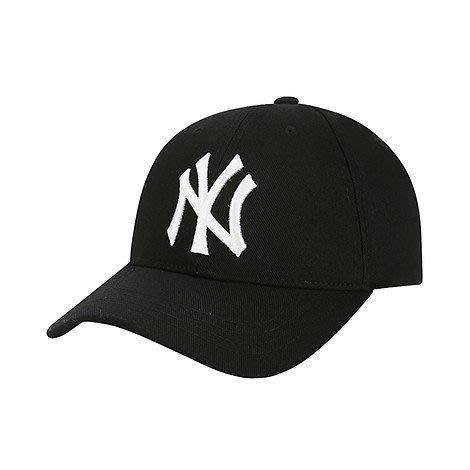 預購 特價【韓Lin連線代購】韓國 MLB 白色NY刺繡黑色棒球帽 CP15 BASIC BALL 72CP15011