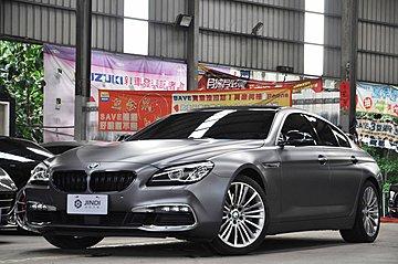 BMW 640i GC 2016 消光黑 環景 免鑰匙 天窗 總代理-金帝汽車
