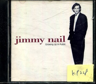 *真音樂* JIMMY NAIL / CROWING UP 二手 K9228 (下標賣4)