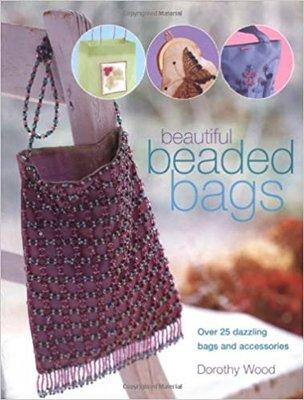 原文書 DIY Beautiful Beaded Bags 珠珠包 製作 紐約設計師