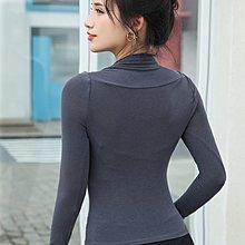 【路依坊】專業運動服 瑜珈薄款長袖上衣 彈力輕盈 貼身舒展 排汗速乾 舞蹈 健身訓練罩衫 t恤 慢跑上衣 A9014