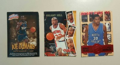 【郵幣新天地】早期 NBA籃球卡《120》三張一拍◎ 拍多少是多少,不提前結拍...《絕版籃球卡》