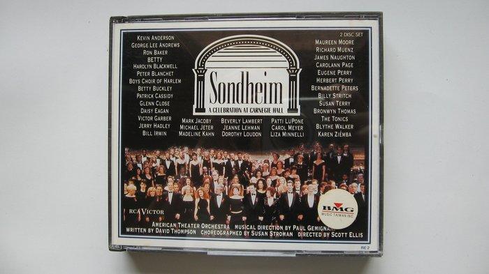 Sondheim: A Celebration at Carnegie Hall 史蒂芬.桑海姆三十年禮讚 雙CD