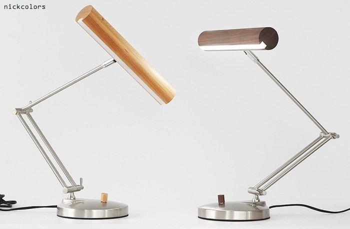 尼克卡樂斯 ~ 北歐原創藝術原木檯燈 北歐風設計師款 LED台燈 書桌桌燈 書桌檯燈 藝術燈