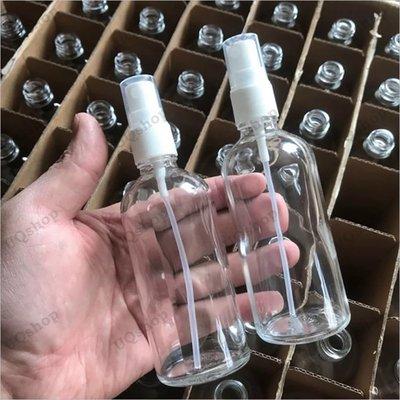 台灣現貨 酒精瓶 酒精瓶子 分裝玻璃瓶 酒精 噴瓶 透明 空壓瓶 酒精噴霧瓶 可裝酒精 玻璃酒精瓶 分裝噴霧瓶 玻璃噴瓶