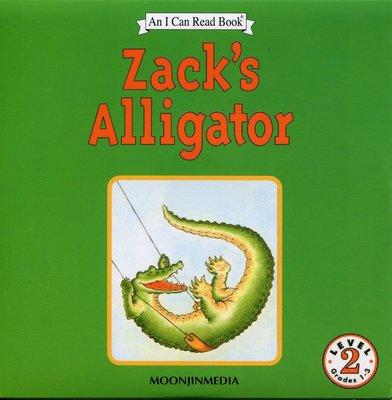 *小貝比的家*ICR:ZACK'S ALLIGATOR L2/單CD/3~6歲 [汪培珽英文書單]