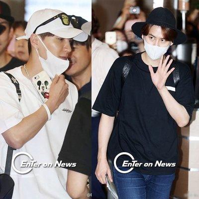Super Junior周邊應援衣服利特曺圭賢同款街拍男女情侶裝短袖T恤