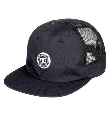 DC Shoes 黑色 棒球帽 卡車帽 網帽 HARSH Q-MAX 吸濕排汗 ADYHA03745 全新 現貨