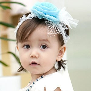 BHL008-韓國進口POPKID韓劇童星愛用品牌 可愛花朵柔膚蕾絲嬰兒童髮帶【現貨】韓國製