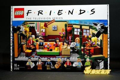 (參號倉庫) 現貨 LEGO 樂高 21319 IDEAS 六人行 中央公園 咖啡館 FRIENDS