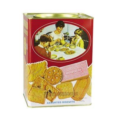 Khong Guan Assorted Biscuits Kaleng Besar1700g 康元 餅乾 FB01008