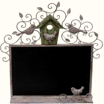 屏東&易匠 ,鐵製情侶鳥黑板.公告欄,自用,送禮,佈置,民宿,餐廳,商業空間