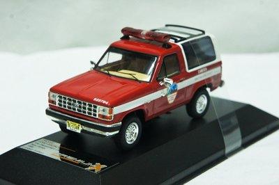 【特價現貨】1:43 PremiumX Ford Bronco II Fire Department 1990 消防車