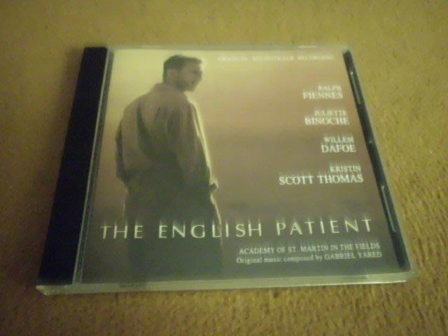 【杜比唱片】 CD ~ 英倫情人 電影原聲帶 // THE ENGLISH PATIENT    *** CD ***