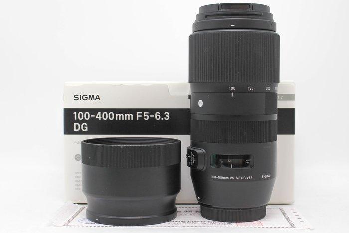 【高雄青蘋果3C】Sigma 100-400mm f5-6.3 DG OS HSM for Canon #53114