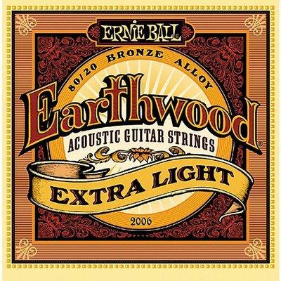 ☆ 唐尼樂器︵☆美國原裝 ERNIE BALL 2006 80/20 Bronze Alloy (10-50)民謠吉他弦